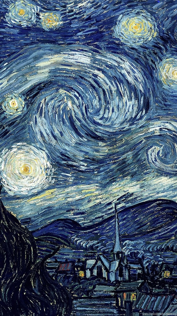 Van Gogh Vincent Starry Night Wall Mural Photo Wallpapers