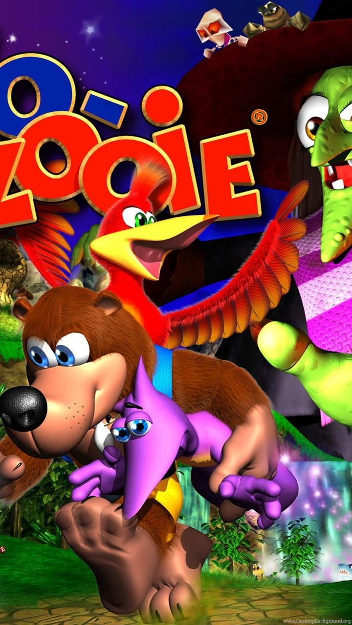 Banjo Kazooie Wallpapers Hd Nuts And Bolts And Nintendo 64 Desktop Background