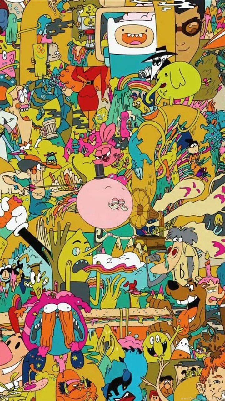 Cartoon Network Backgrounds Wallpapers Cave Desktop Background