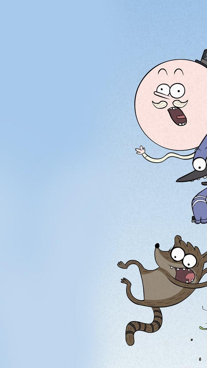 Rigby And Mordecai Regular Show Wallpaper Source Wallpapers Cartoon