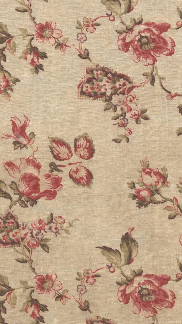 Floral Vintage Wallpapers Patterns Pink Vector Seamless Flower