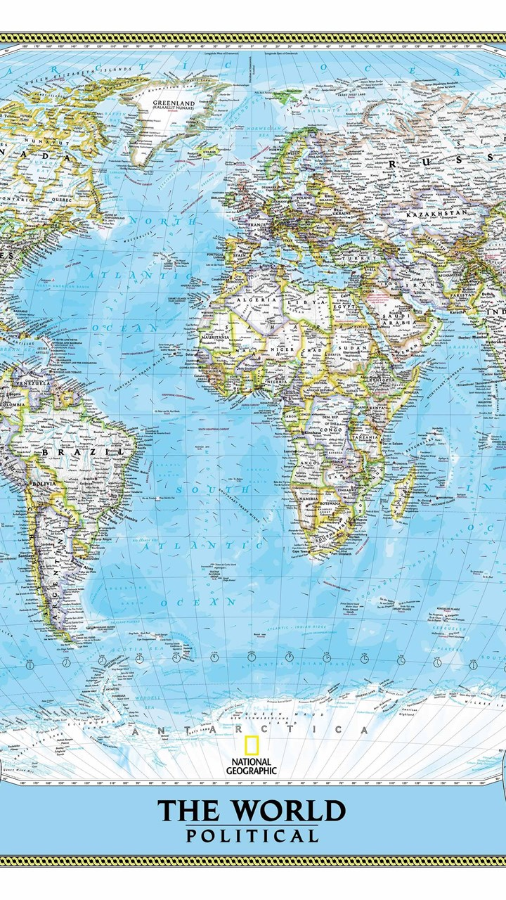 National geographic world map wall mural desktop background fullscreen gumiabroncs Image collections