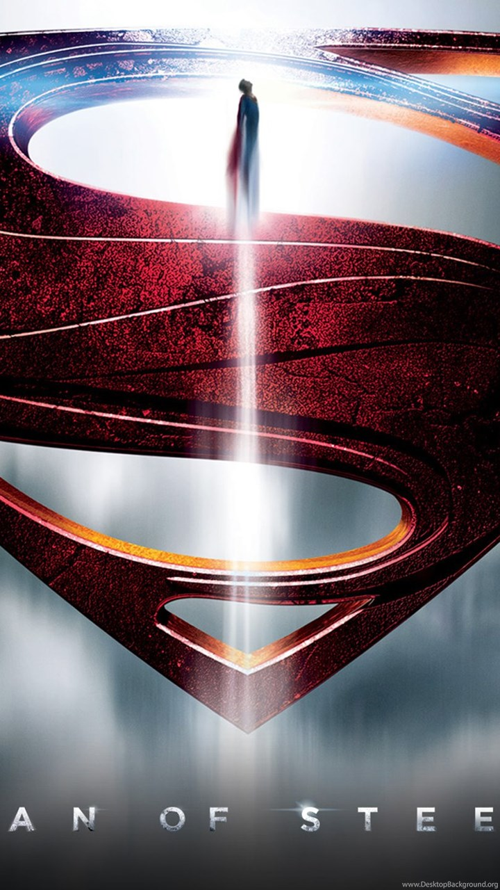 Superman Man Of Steel Logo Wallpapers Free Download 164 Hd