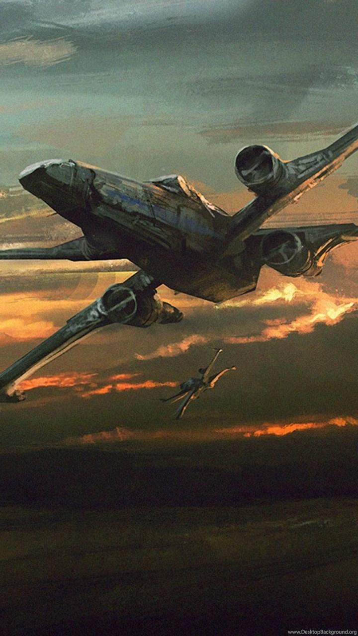 Star Wars The Force Awakens X Wing Wallpapers 4k 4096x2160 Desktop Background