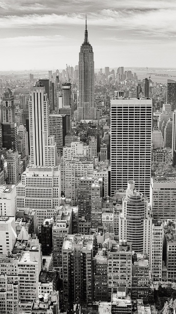 Black White New York City Wallpapers Desktop Background
