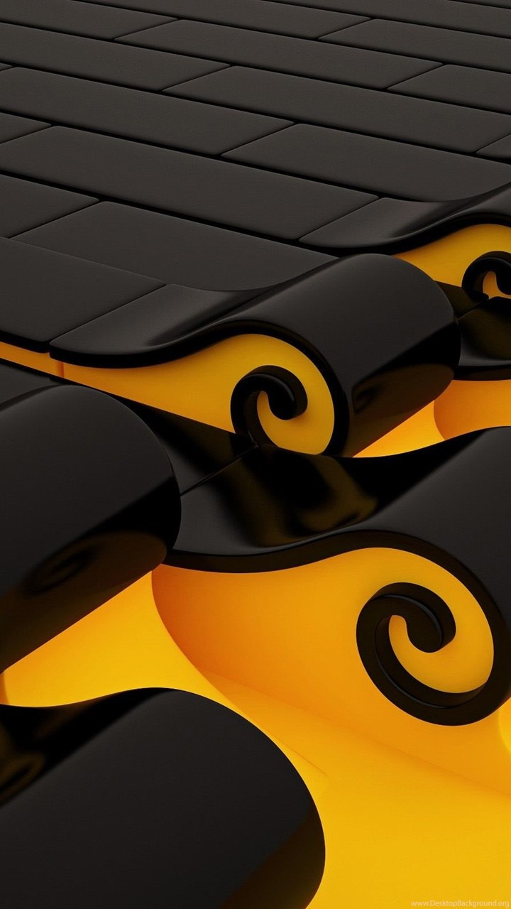 Yellow And Black Wallpapers Designs Wallpapers Zone Desktop Background