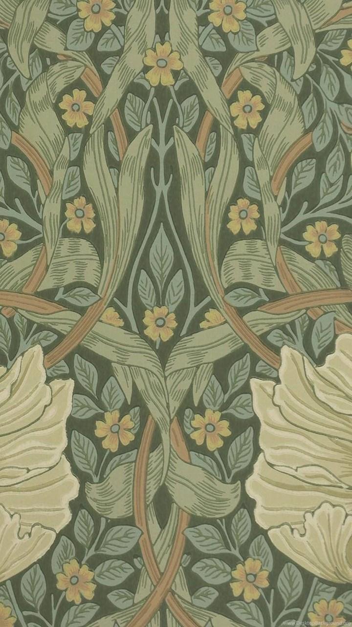 Pimpernel Wallpapers Privet/Slate (210389) William Morris & Co