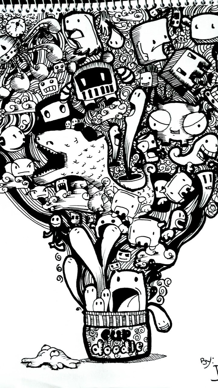 Doodle wallpapers collection 46 desktop background - Doodle desktop wallpaper ...