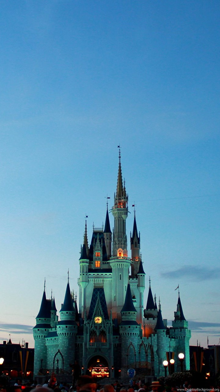 Cinderella Castle A Blue Hour Photo Of The