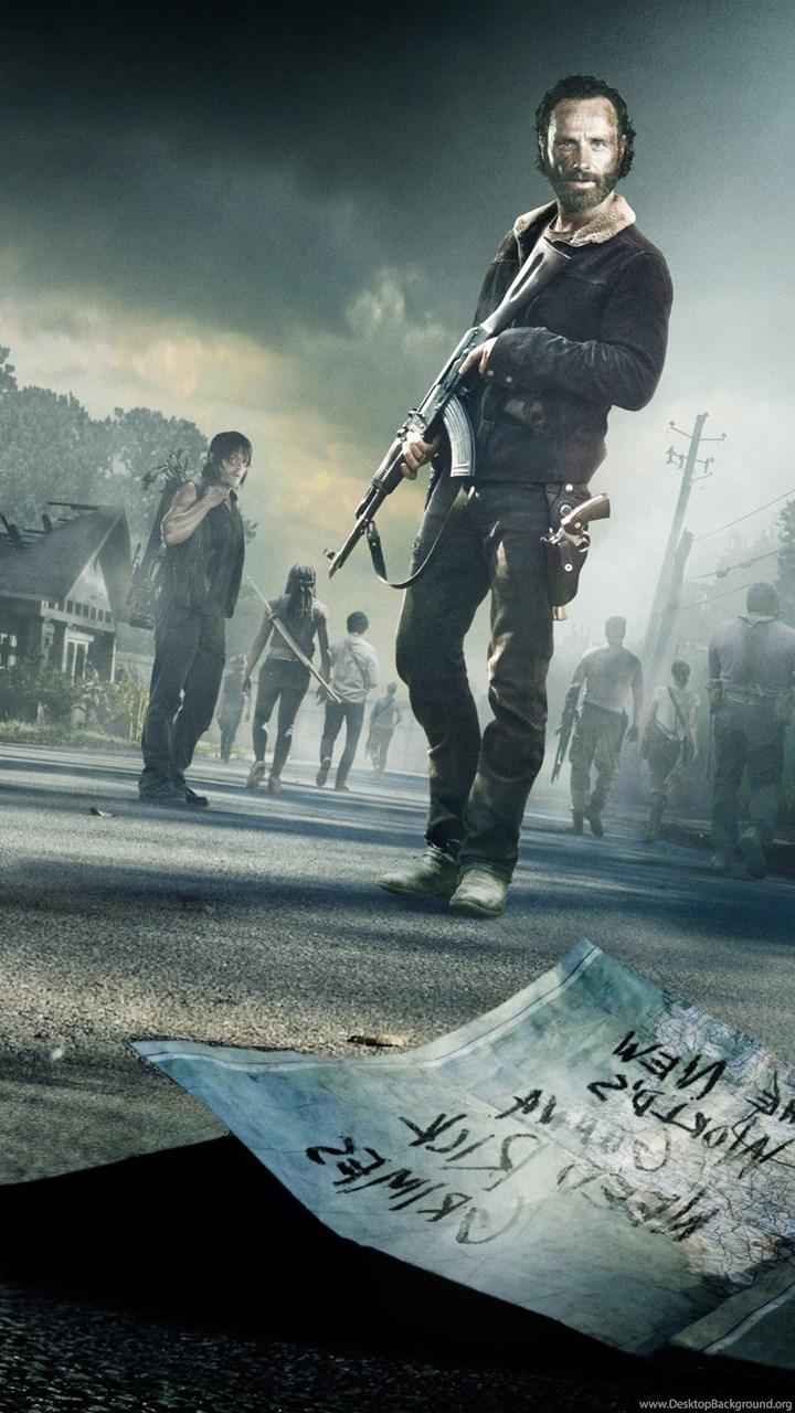 Download The Walking Dead Season 5 Hd Wallpapers In 2048x1152