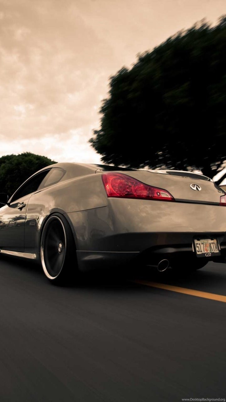 Infiniti G37 Sport Desktop Background