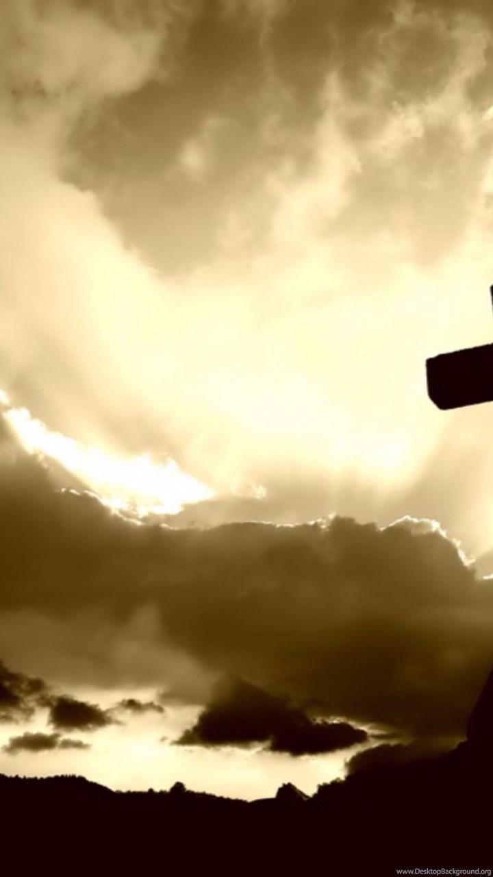 Sunrise Cross Christian 4K Wallpapers Desktop Background
