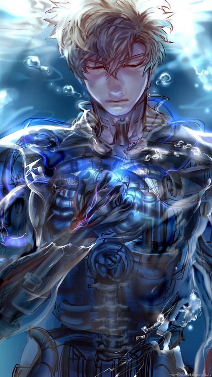Genos One Punch Man Anime Wallpapers Hd Free Download Desktop