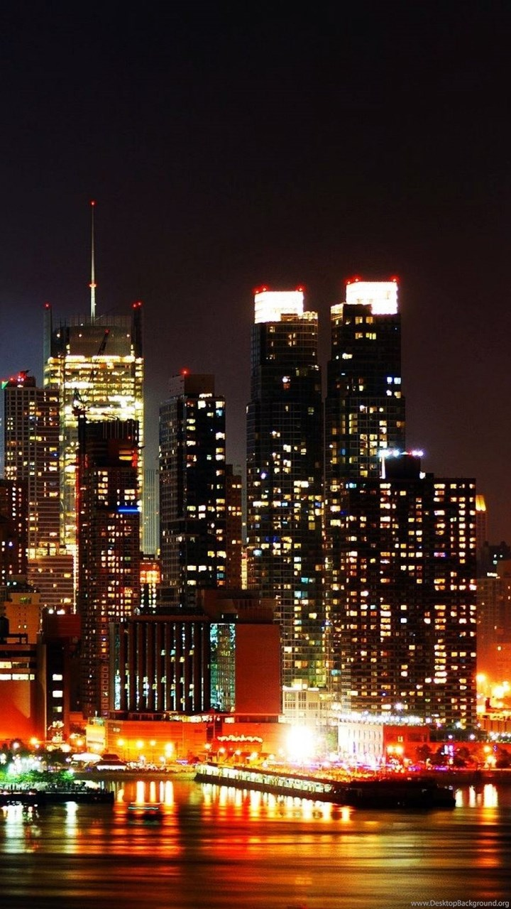 New Playstation 5 >> High Resolution New York Skyline At Night Wallpapers HD 21 City ... Desktop Background