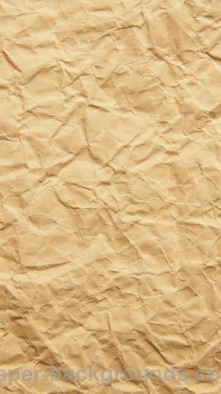 Crumpled Paper Bag Texture With Brown Paper B 20950 ...