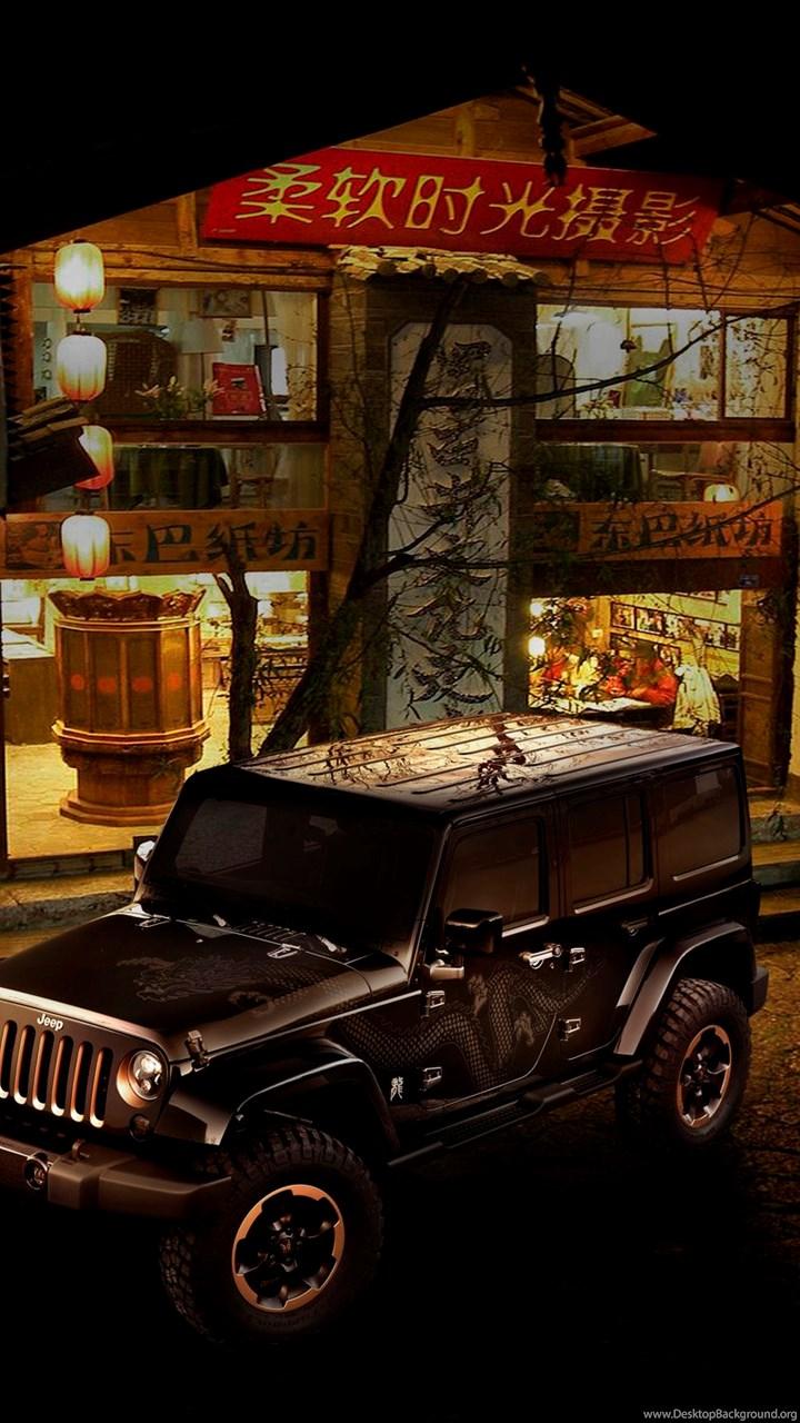 Jeep Wrangler Dragon Concept Wallpapers Desktop Background