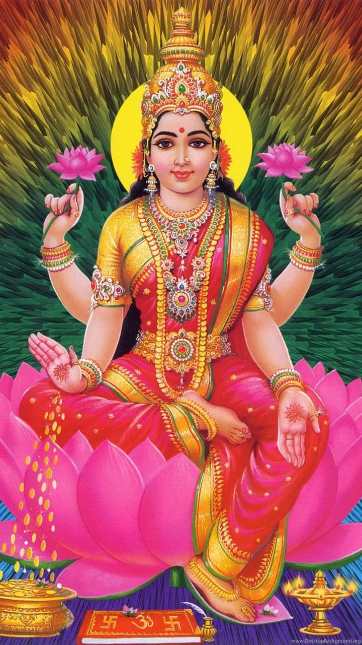 Lord Ganesha And Goddess Lakshmi Wallpapers And Images Desktop