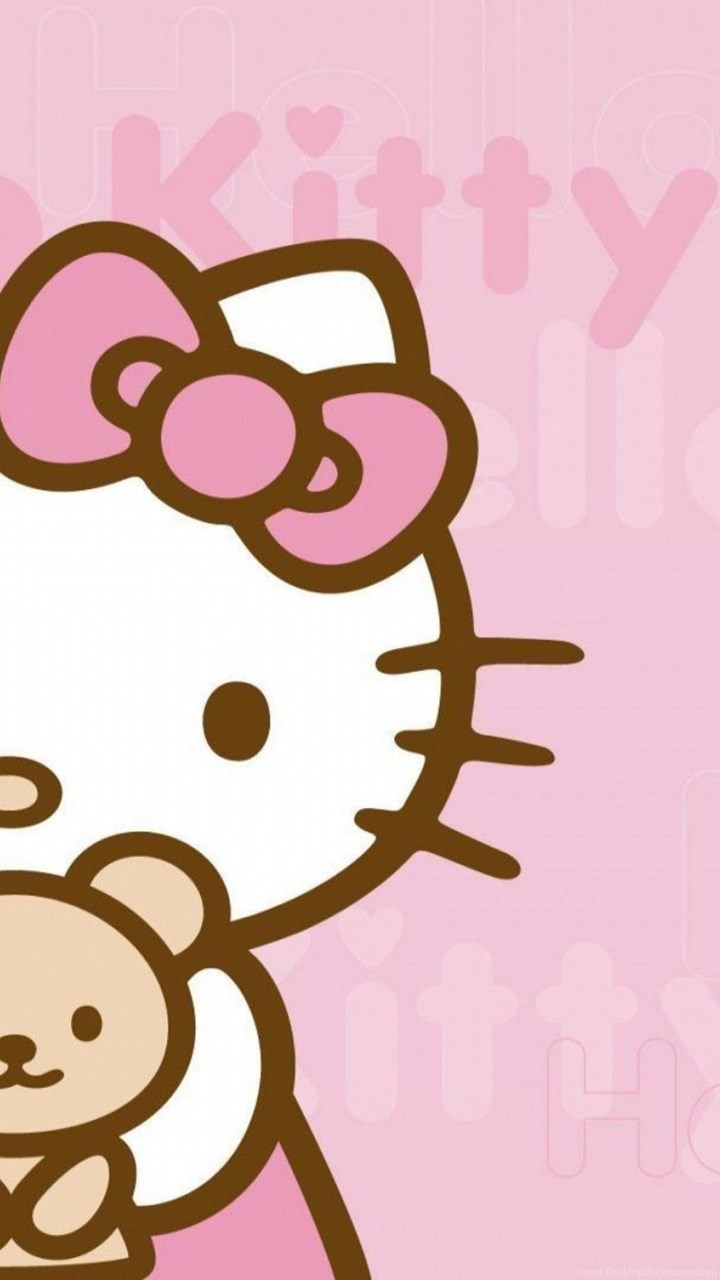 Hello kitty wallpapers for android tablet desktop background fullscreen voltagebd Image collections