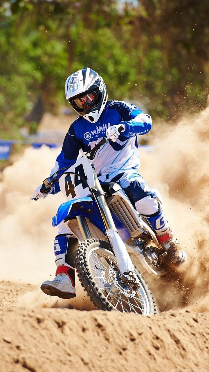 High Resolution Motocross Yamaha Dirt Bike Wallpapers HD 3