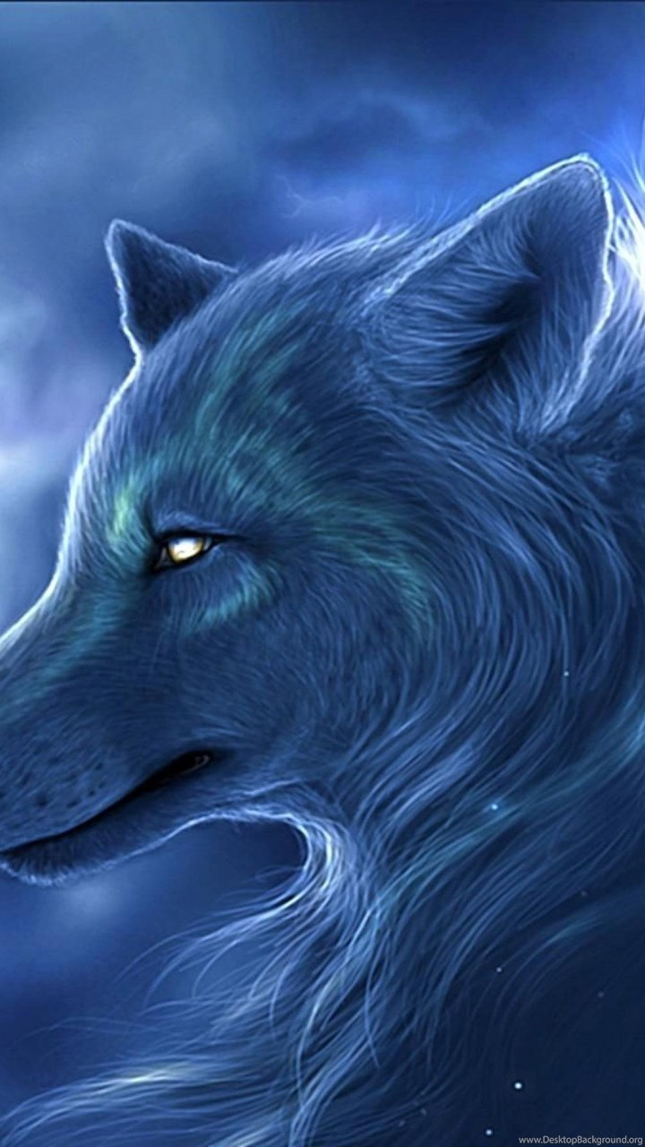 Mystical Wolf Cloud Digital Art 2880x1800 Hd Wallpapers And Free Desktop Background