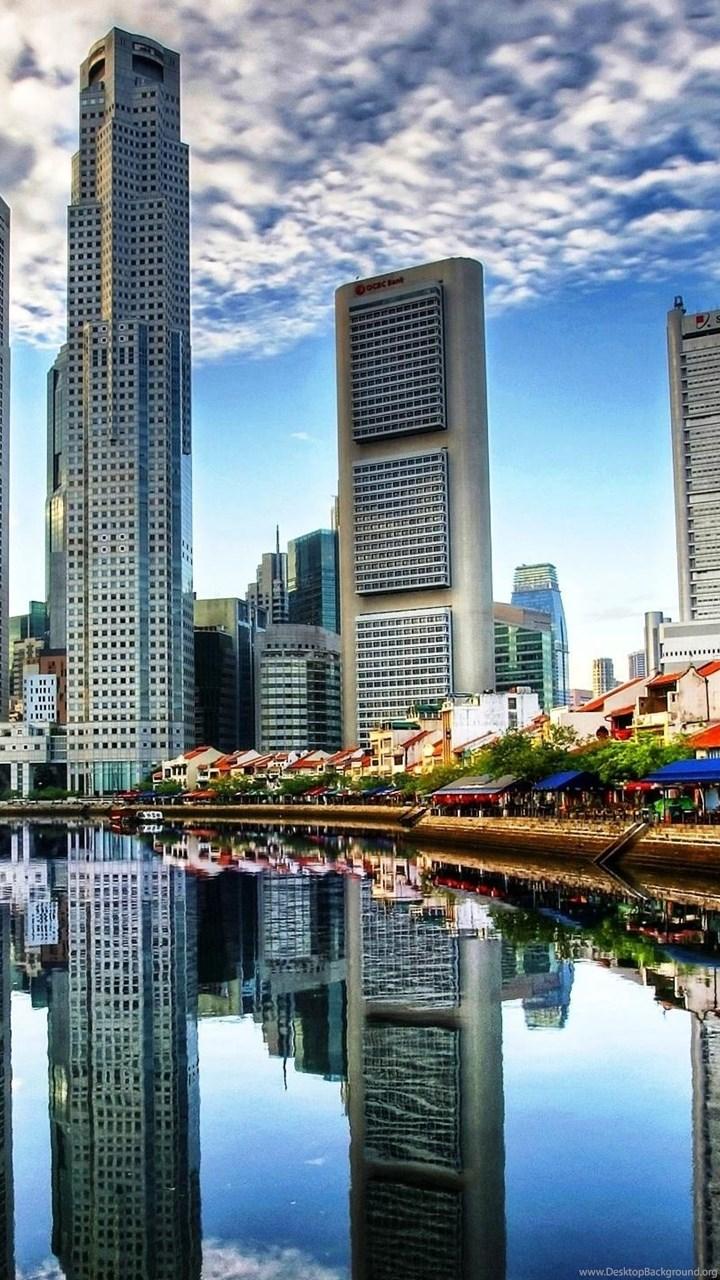 Singapore City Hd Desktop Wallpapers High Definition Fullscreen Desktop Background
