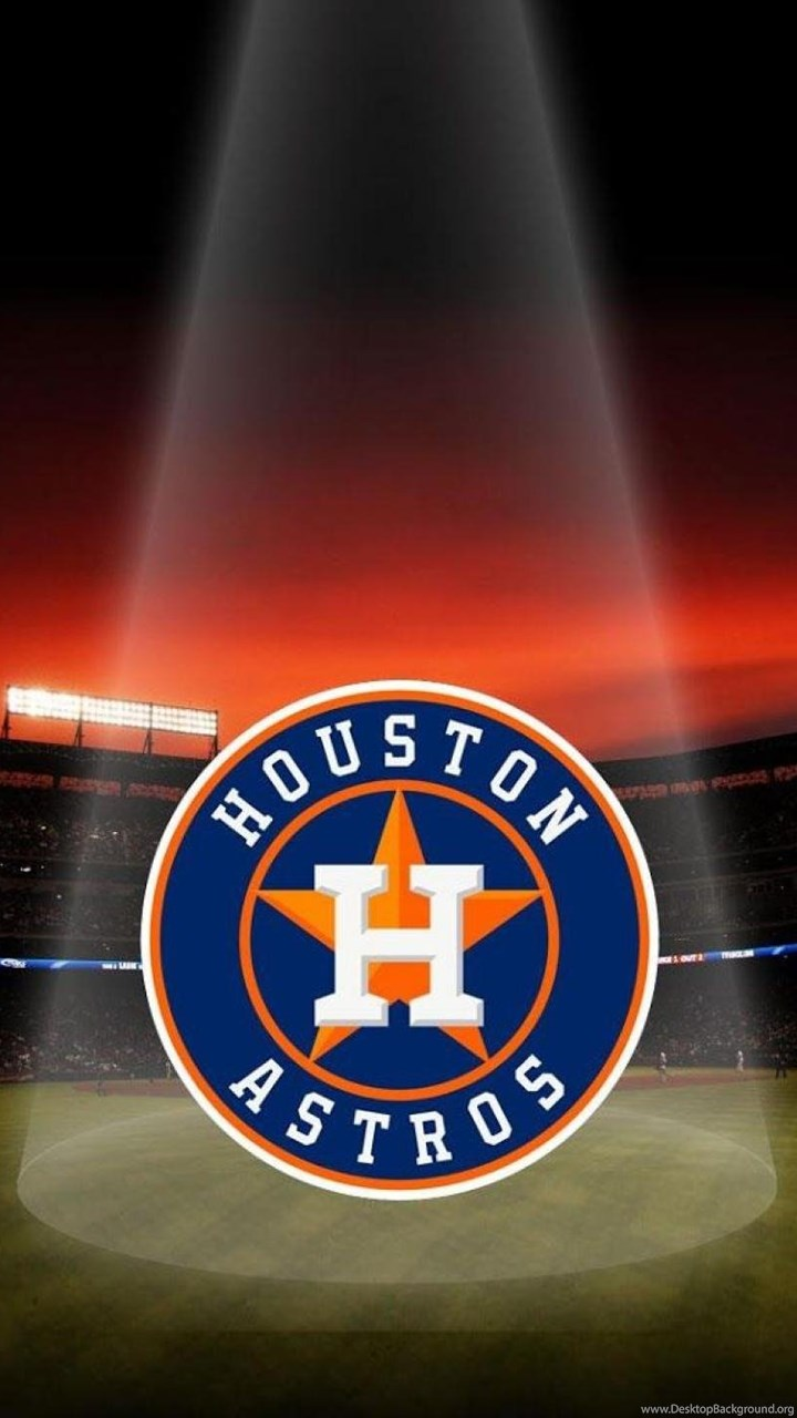 Mlb Houston Astros Logo Baseball Stadium Wallpapers Hd Free