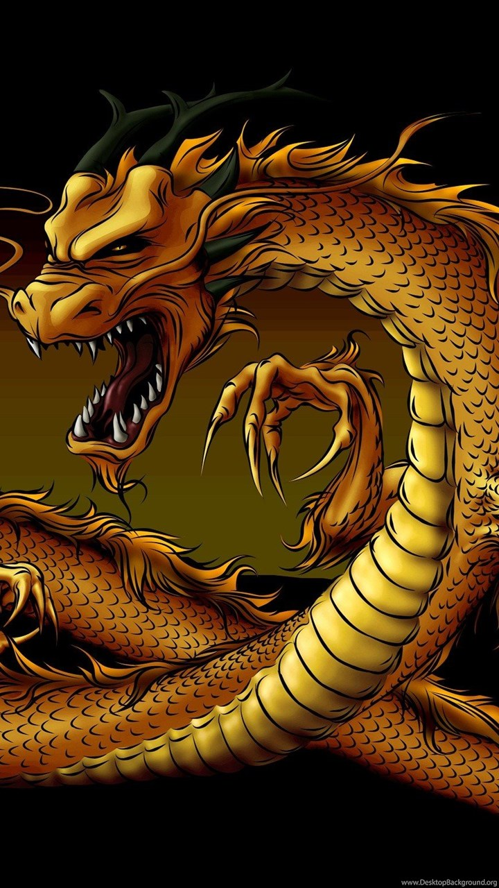 3d stereoscopic wallpaper custom photo wallpaper 3d 3D Golden Dragon three  dimensional Home Decoration-in Wallpapers from Home Improvement on  Aliexpress.com ...