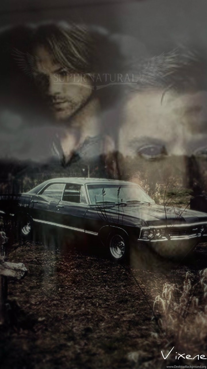 Supernatural 67 Chevy Impala Iphone Wallpapers By By ...