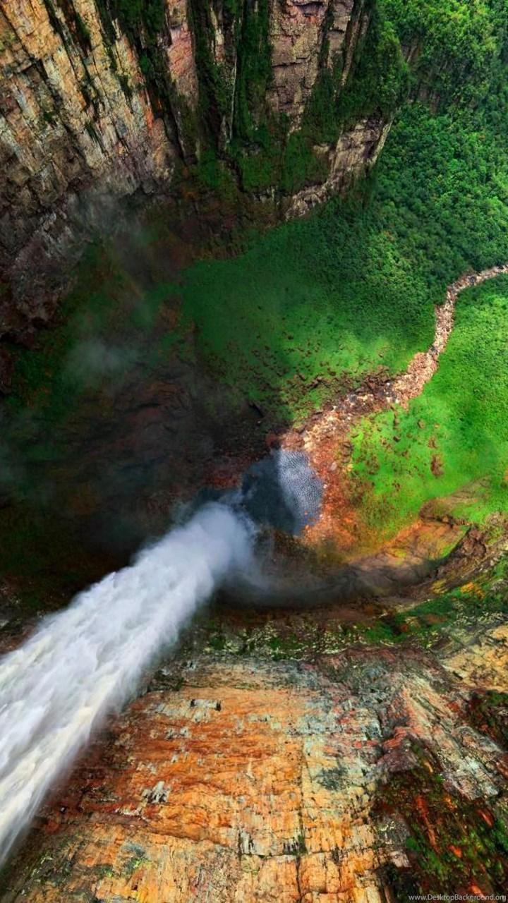 Angel Falls Venezuela Wallpapers For Desktop Of Salto Angel Desktop Background