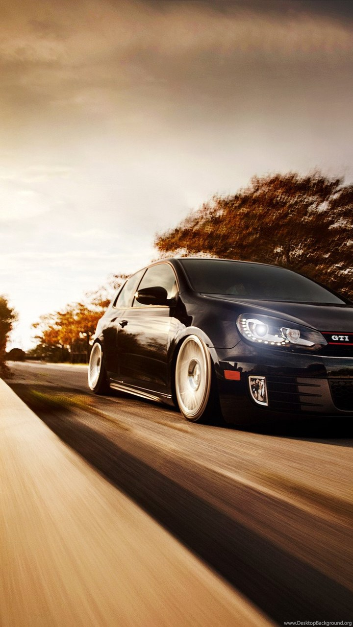 White Volkswagen Golf Gti Wallpapers Desktop Background
