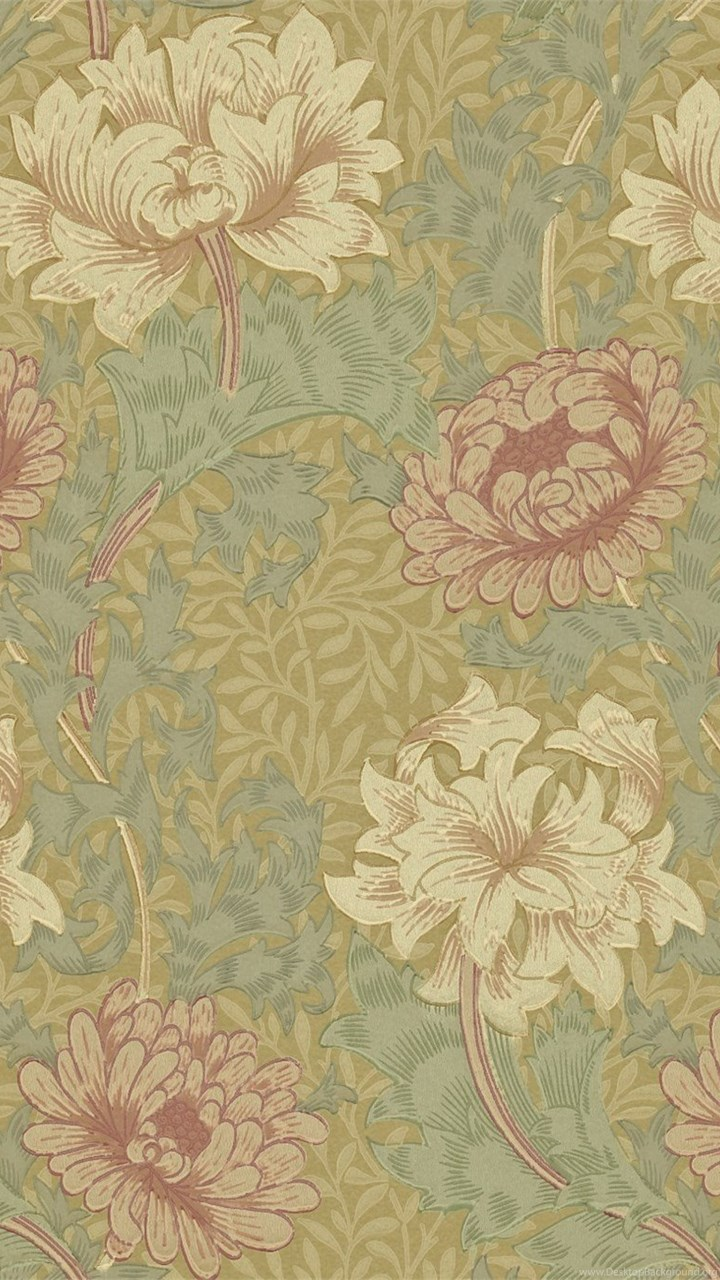 The Original Morris & Co Arts And Crafts, Fabrics And Wallpapers