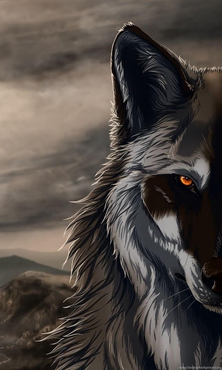Black Wolf Wallpapers Wallpapers Hd Wide Desktop Background