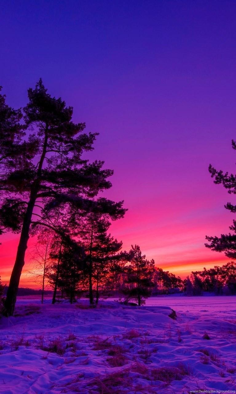 Winter Sunset Desktop Wallpapers , New Wallpapers, New