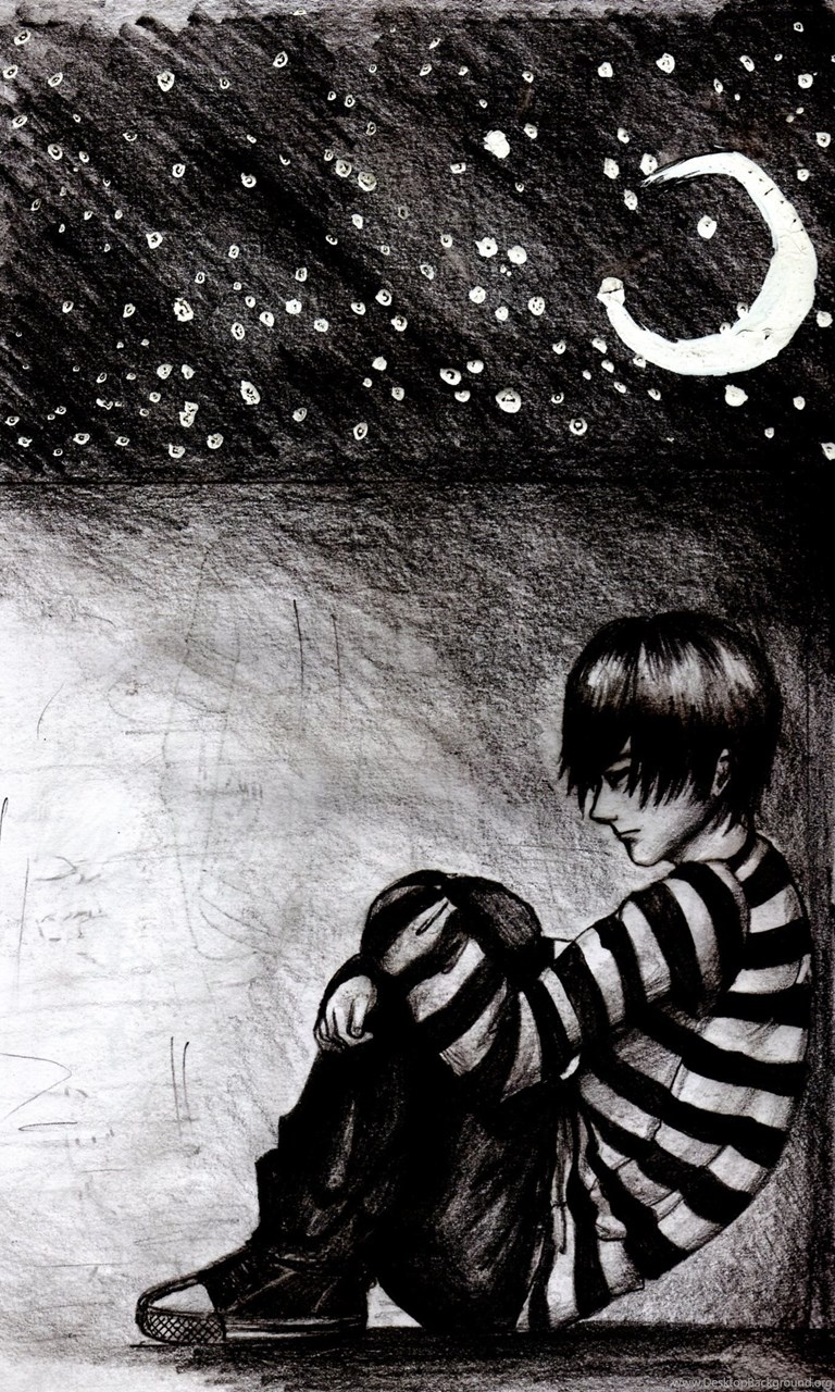 Sad Boy And Girl In Love Alone Wallpapers Alone Crying Face And