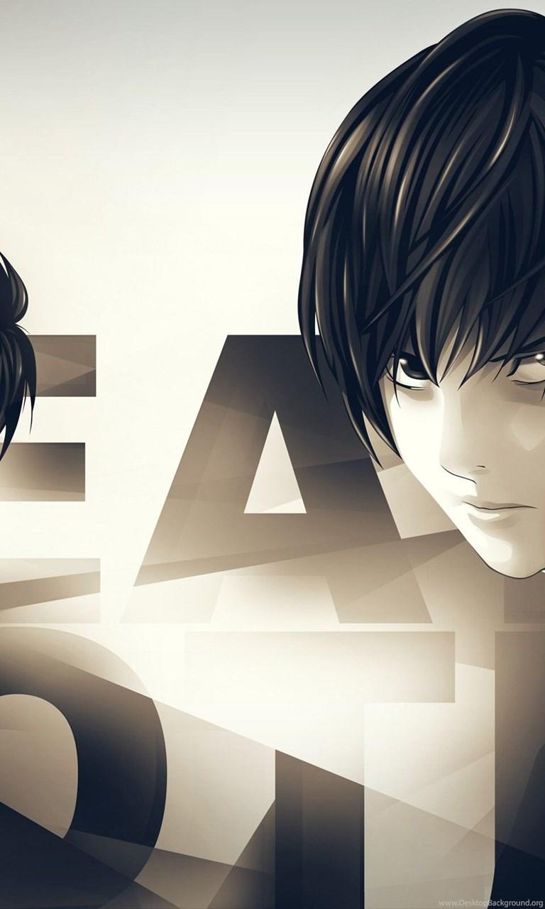 L Yagami Light Death Note Wallpapers Desktop Background