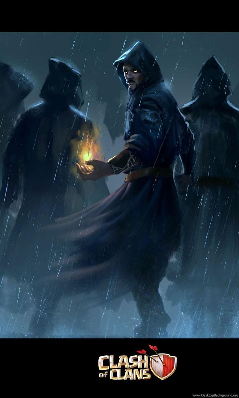 Wizards In Rainy Night Wallpapers Desktop Background