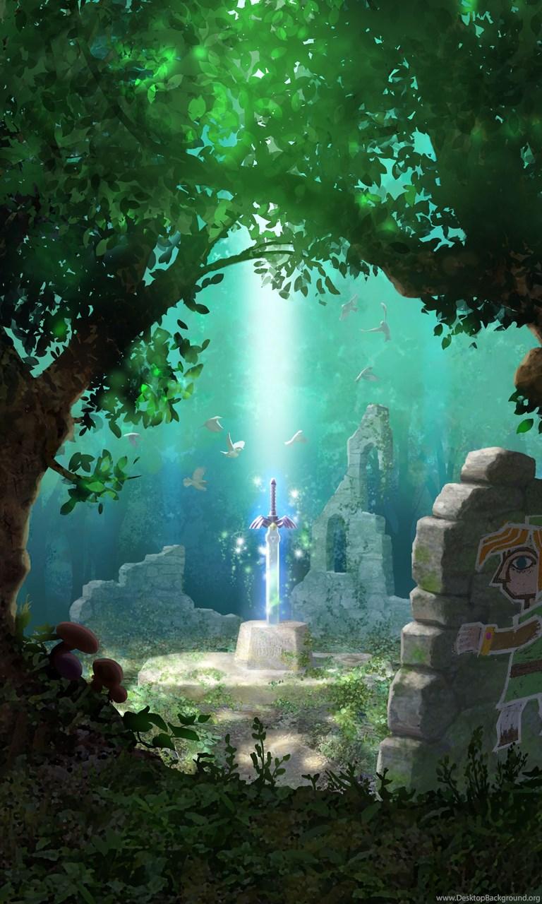The Legend Of Zelda Wallpaper Art Fantasy The Legend Of Zelda Desktop Background