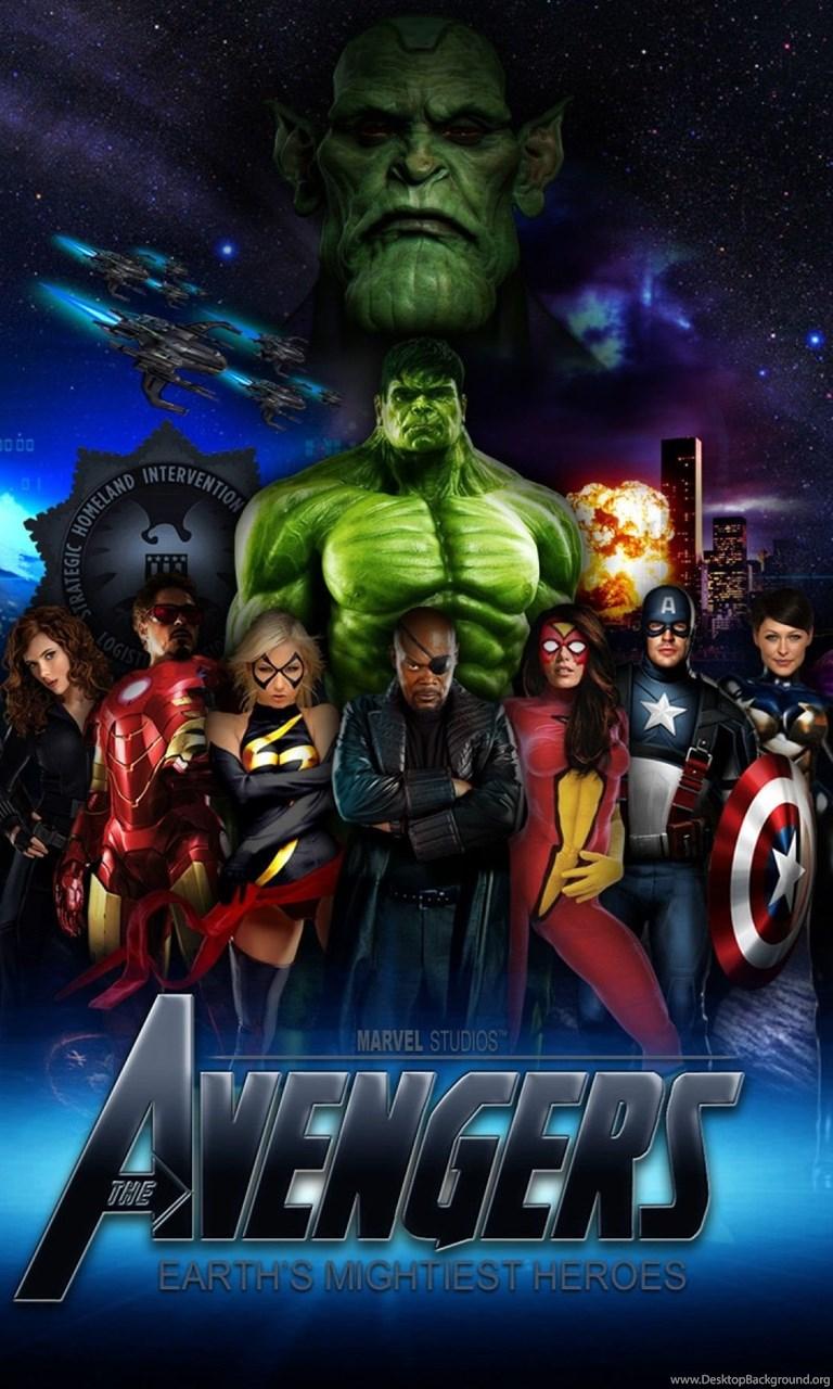 Avengers Wallpapers Hd Wallpapers Cave Desktop Background