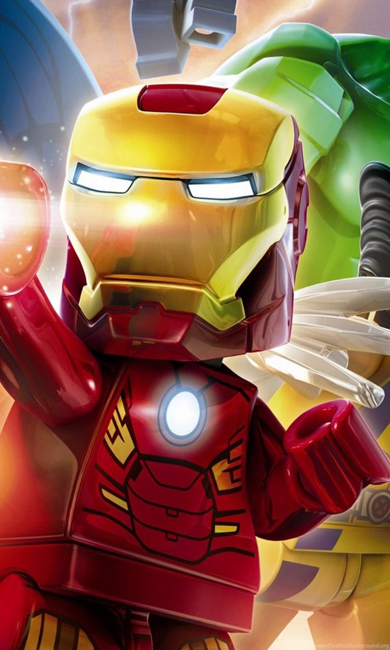 Gallery For Lego Marvel Superheroes Wallpapers Desktop Background
