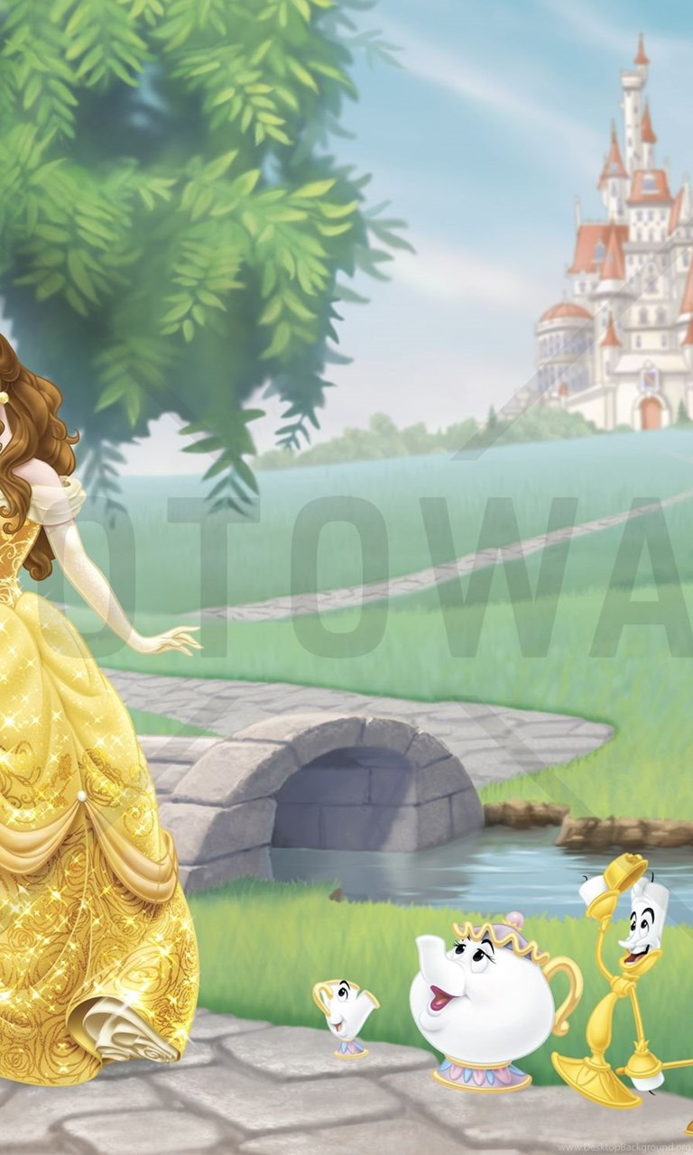 Disney Princess Belle Wall Mural Photo Wallpapers Photowall