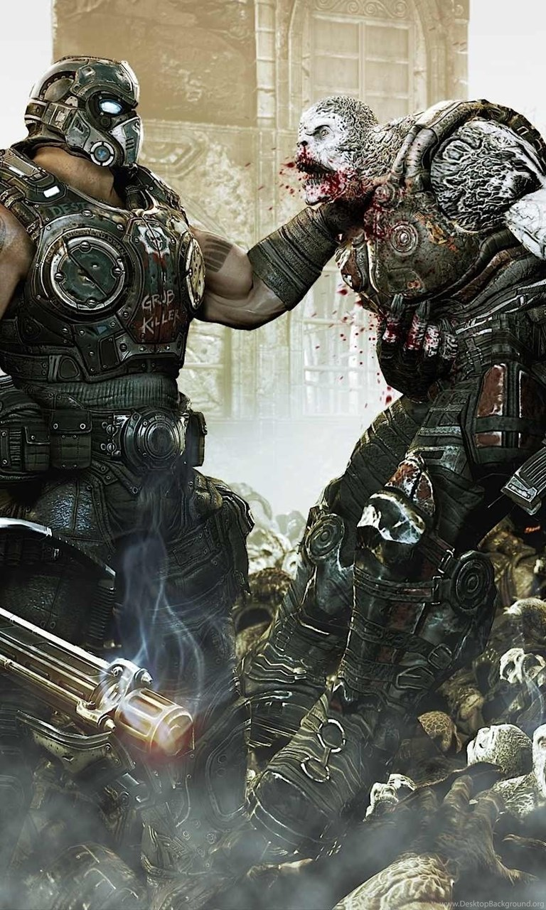 Wallpapers Gears Of War Game Locust Hd Widescreen 2560x1440