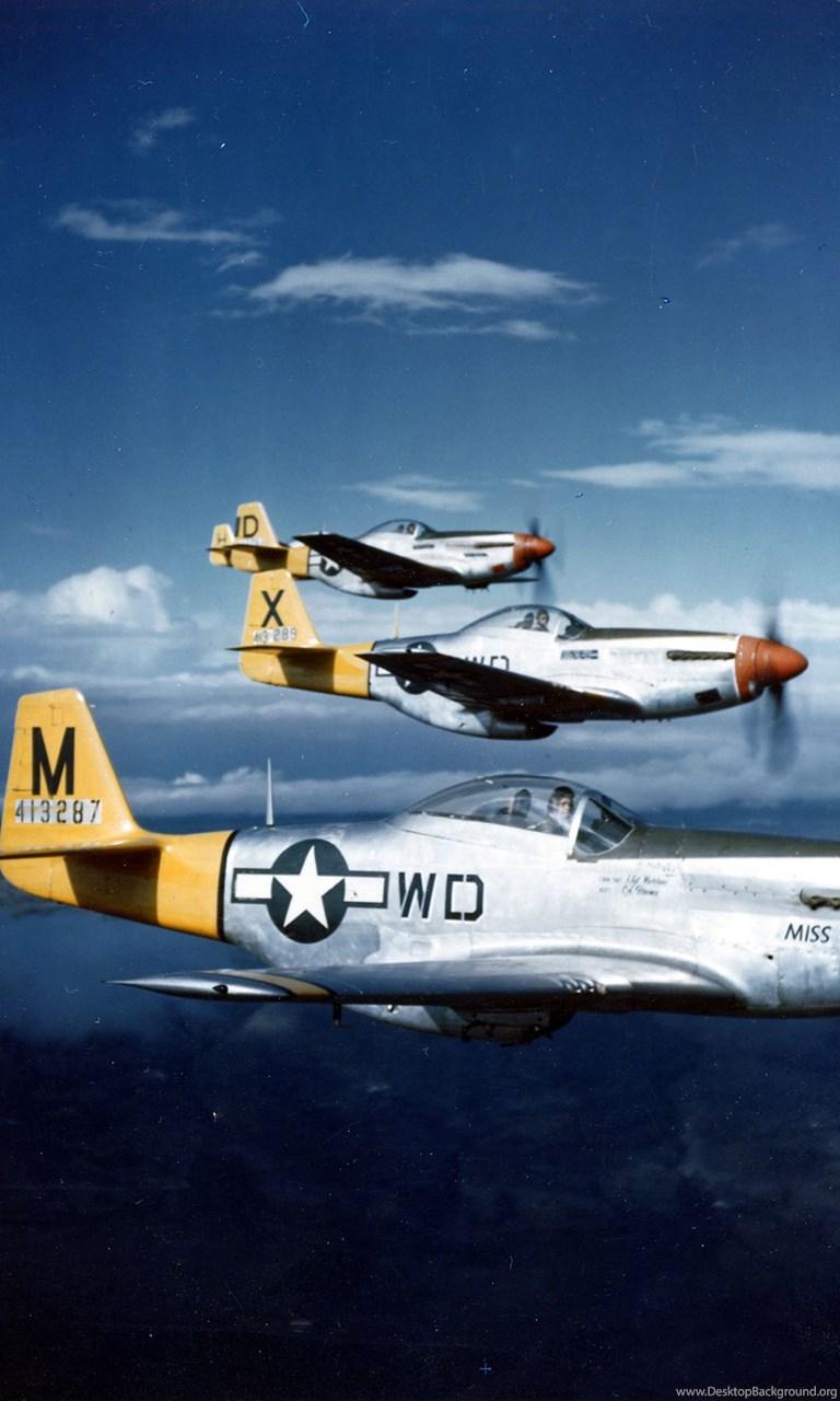 P 51 Mustang Aircraft Military Planes Vehicles Wallpapers