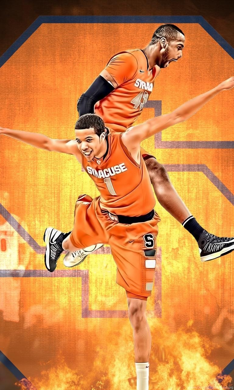 Syracuse Orange Desktop Wallpaper