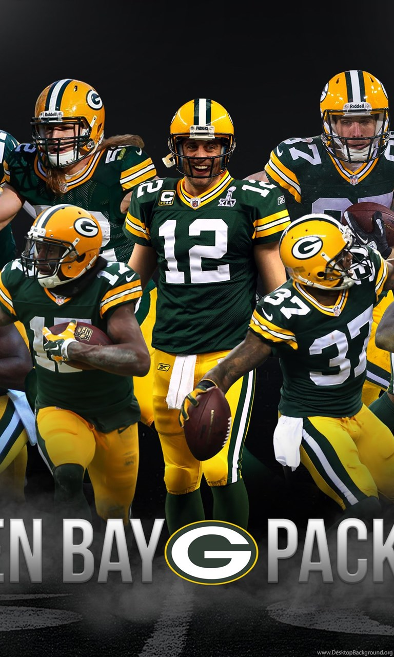 Green Bay Packers Iphone Wallpapers Wallpapers Zone Desktop Background