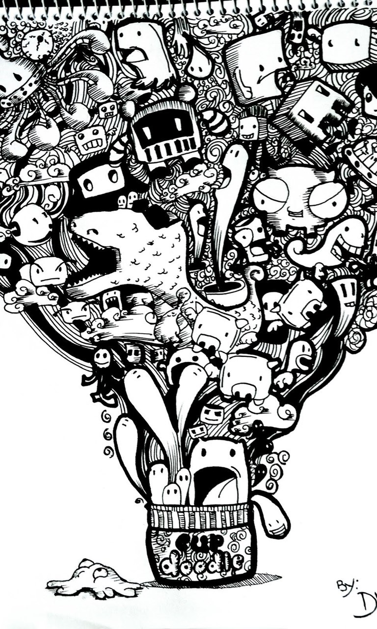 Doodle Wallpapers Collection 46 Desktop Background Android Wallpaper