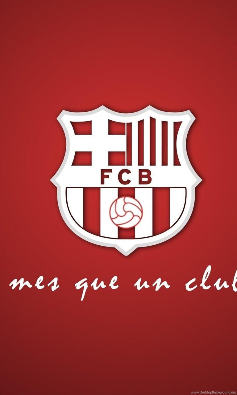 FC Barcelona Logo Wallpapers Red Backgrounds Desktop Background