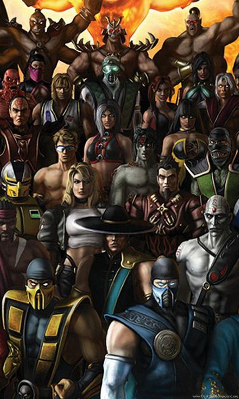 Wallpapers Mortal Kombat Characters Top 2560x1440 Desktop