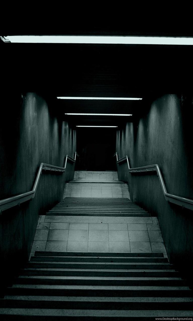 Dark Stairway Lockscreen Android Wallpapers Free Download