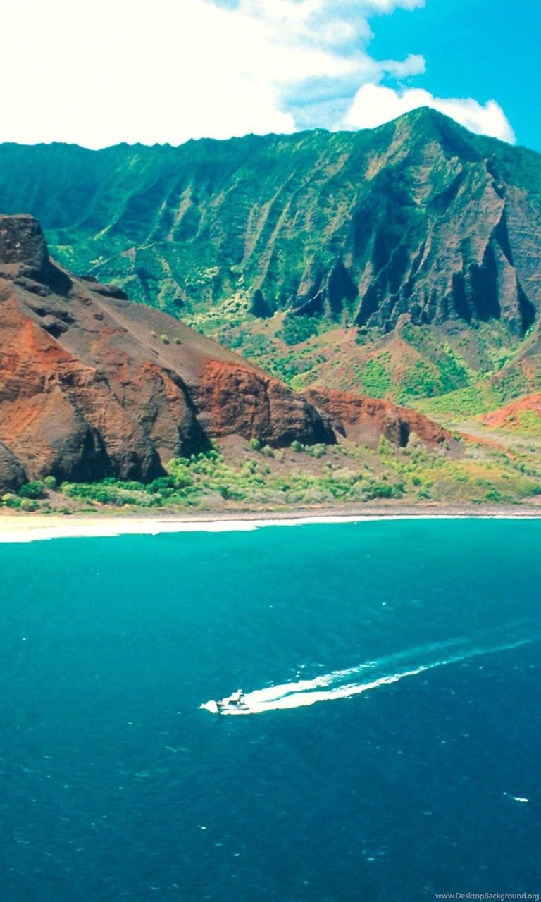 Na Pali Coast State Park Hawaiian Island Nature Hd Wallpapers