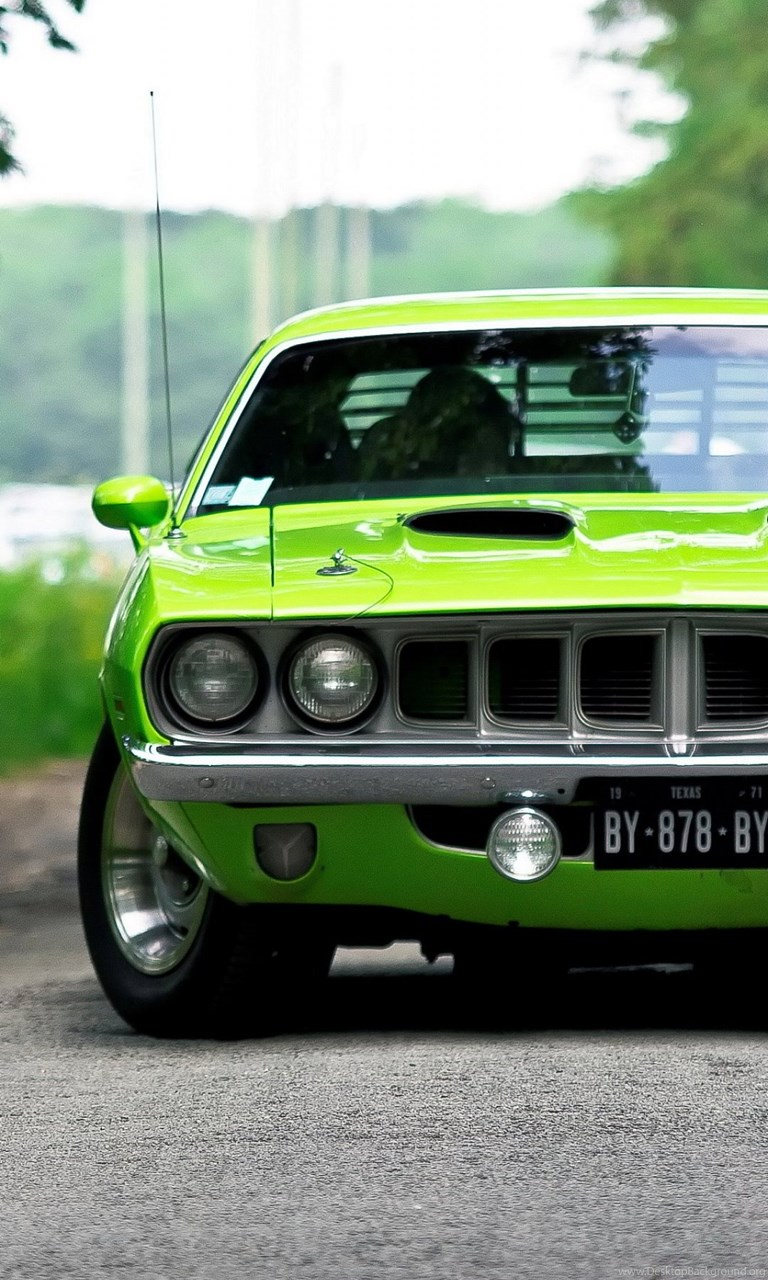 Muscle Car Iphone 5 Wallpapers Desktop Background